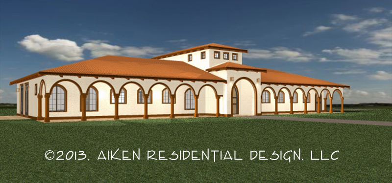 The Hacienda Rendering