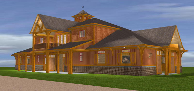 Barn apartments joy studio design gallery best design for Barn with apartment plans