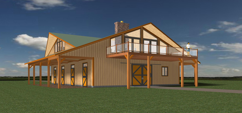pole barn with living space house plan pole barns homes pole barn with