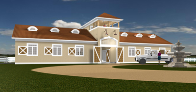 Floridian Front Left Rendering 400